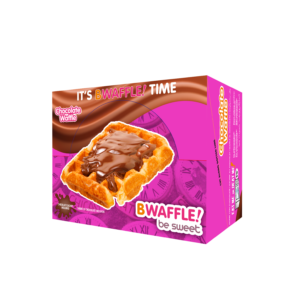 Caja 10 gofres BWaffle! con chocolate