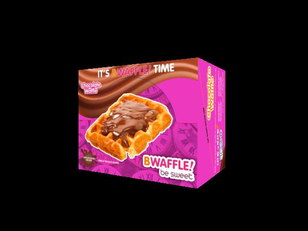 Caja 10 gofres BWaffle! con chocolate